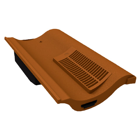 Terracotta Single Pantile Roof Tile Vent Marley Redland