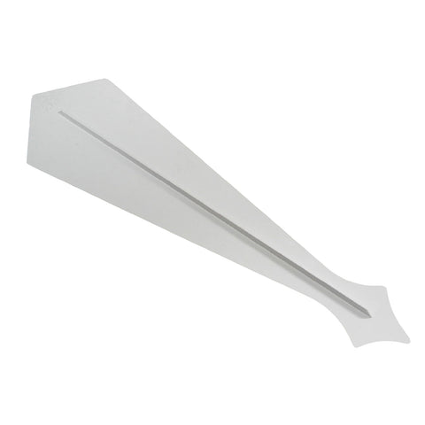 White plastic Upvc Finial Fascia Joint for Gable Apex<br><br>