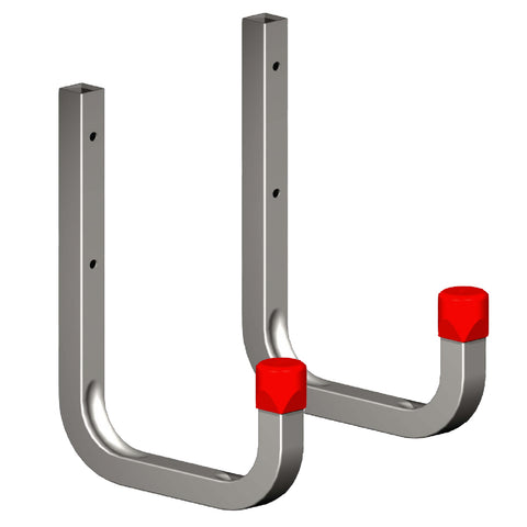 2 x 150mm Storage Wall Hooks 85kg Galvanised Steel<br><br>