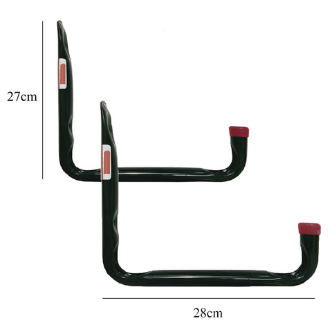 2 x Large Heavy Duty Storage Hooks Wall Mounted<br><br>