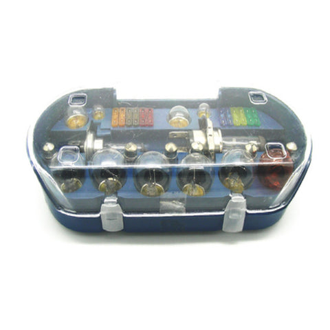 30 Piece Universal Car H7 + H4  Bulb and Fuse Set<br><br>