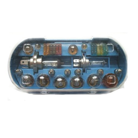 30 Piece Universal Car H4 Bulb and Fuse Set <br><br>