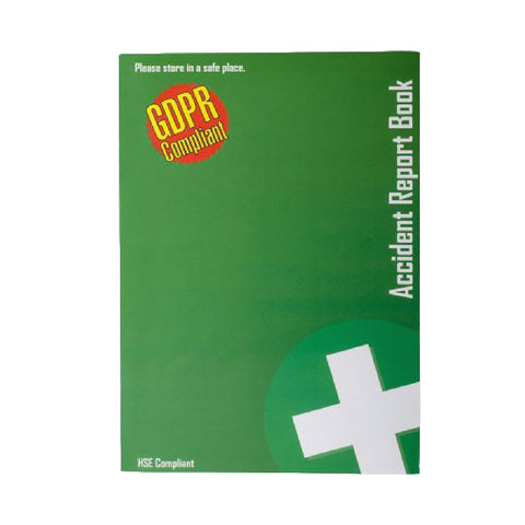 Official A5 Accident Injury Report Book 20 Pages<br><br>