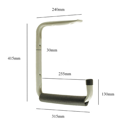Giant Heavy Duty 415mm Wall & Ceiling Mounted Storage Hook