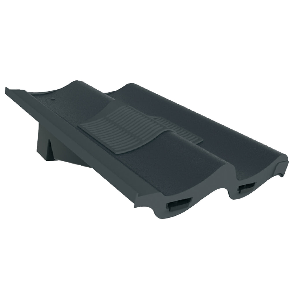 Grey Double Pantile Roof Tile Vent Amp Adapter Marley