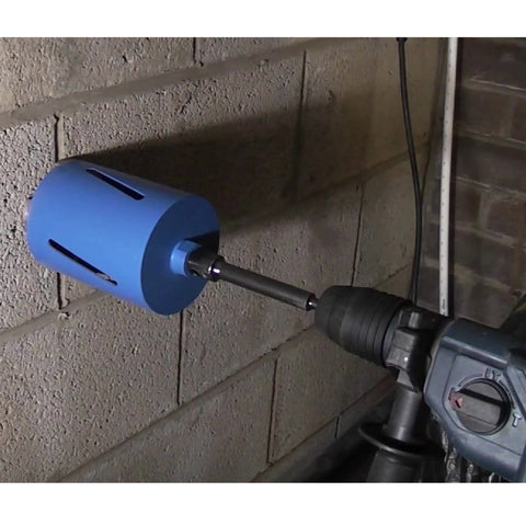 SDS Plus Core Drill Arbor 200mm Adaptor & Ejector Drift