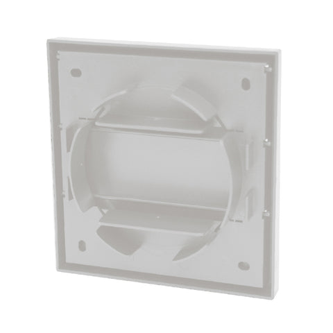 White Gravity Flap Air Vent & Back Draught Shutter 4 Inch<br><br>