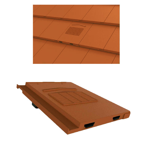 Terracotta Roof Tile Vent & Pipe Adapter for Marley Modern & Mini Stonewold