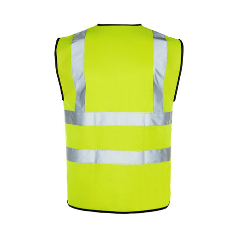 Yellow High Visibility Safety Vest <br><br>