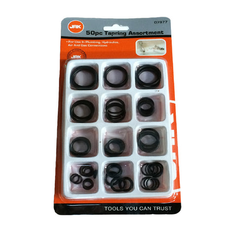 50 x Assorted Rubber O Rings. Plumbing DIY Tap Sink Washers