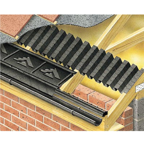 6 Metre Universal Roof Vent Pack Eaves Fascia Ventilation<br><br>