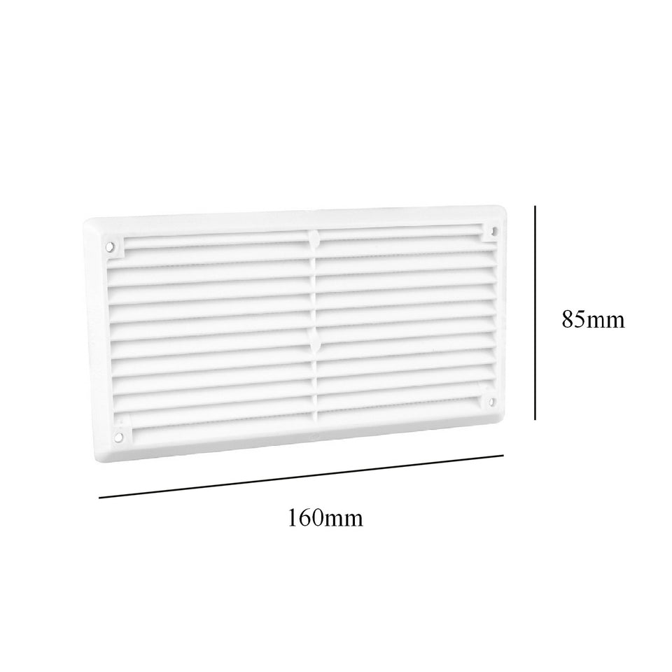"NEW Louvre Vent Flyscreen 6/"" x 3/"" Each"