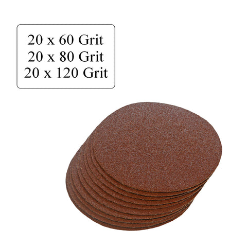 Mixed Grit Hook and Loop 2 Inch Sanding Discs <br> Menu Options