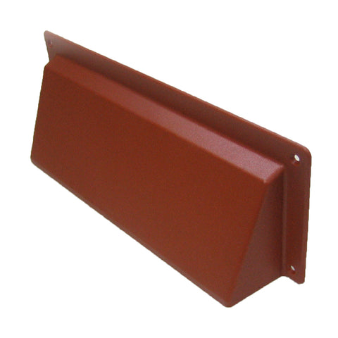 Terracotta Hooded Cowl Vent Cover For Air Bricks Grilles