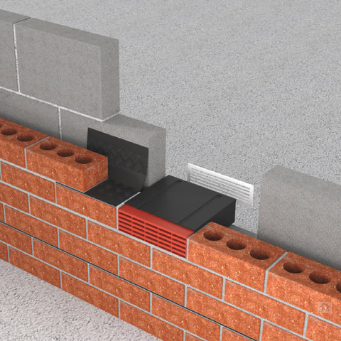 9 Quot X 3 Quot Extendable Cavity Wall Sleeve Air Brick Gas Vent