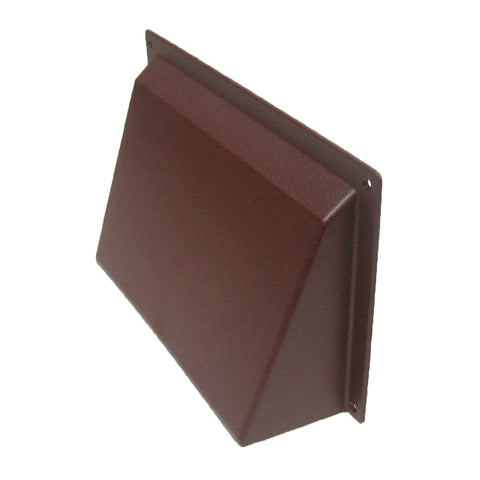 Brown Hooded Cowl Vent Cover For Air Bricks Grilles