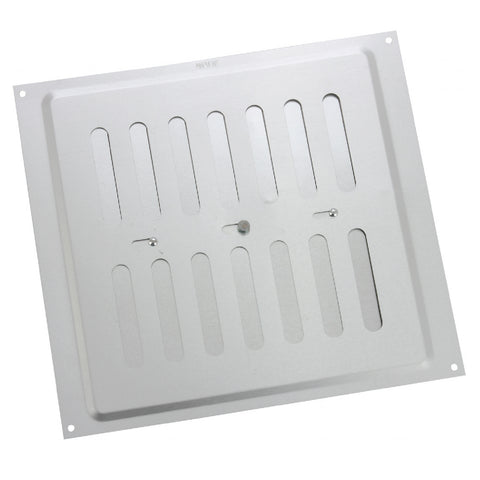 "9"" x 9"" Adjustable Air Vent Aluminium / Metal Grille Ventilation Cover"