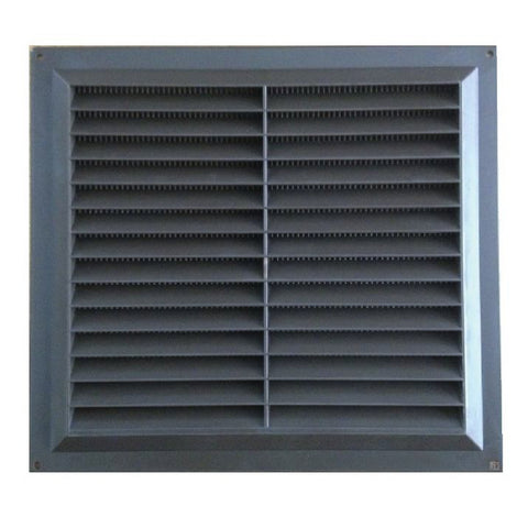 9 Quot X 9 Quot Brown Plastic Louvre Air Vent Wall Grille Homesmart