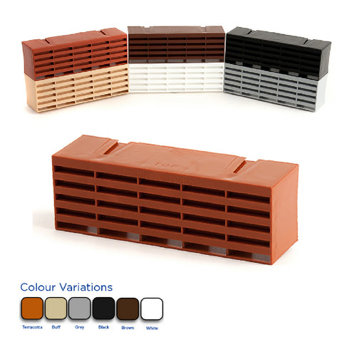 9 x 3  Air Brick Ventilator with Colour Options <br><br>