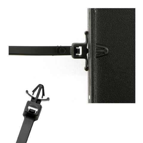 Push Mount Winged Cable Ties <br> Menu Options