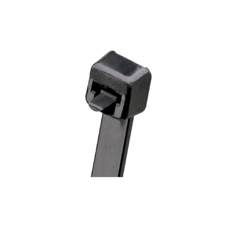 100 x Black Releasable Cable Ties <br> Size: 100 x 3.6mm