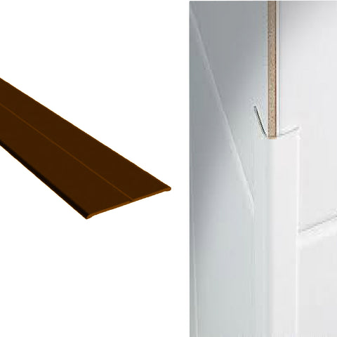 Brown Corner Wall Protector Plastic Flexi Angle <br>Menu Options