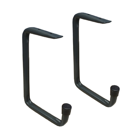 2 x Ceiling Mounted or Under Shelf 160mm Storage Hooks<br><br>