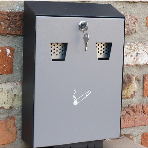 Cigarette Disposal Box Steel Ashtray Bin<br><br>