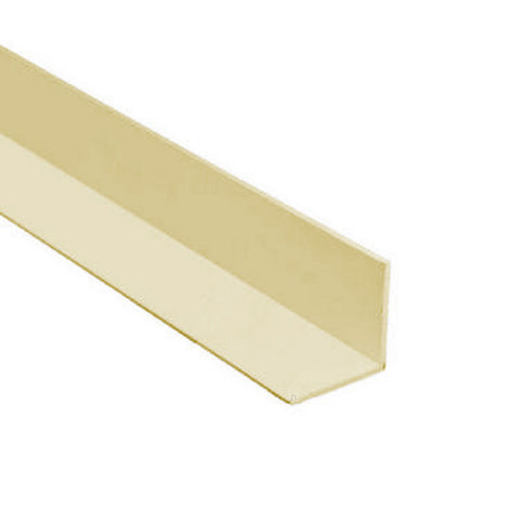 Cream 1.2 Metre UPVC Angle 40mm x 40mm Corner Trim <br> Menu Options