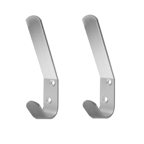Double Aluminium Hat and Coat Hooks <br><br>