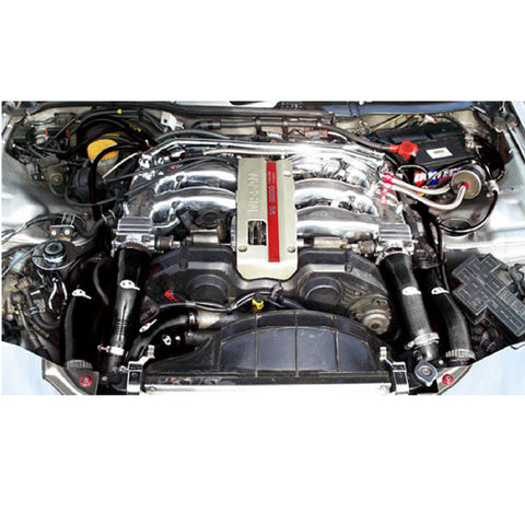Universal Motorsport Engine Bay Silicone Hose Black Dress Up Kit