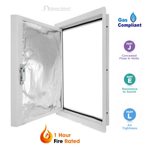 1 Hour Fire Rated Metal Steel Access Panel Hinged
