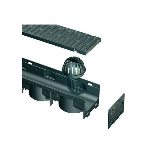 Garage Drainage 3 Metre Pack & Accessories.<br><br>