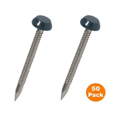 Anthracite Grey UPVC Poly Top Pins Stainless Steel  <br>Menu Options