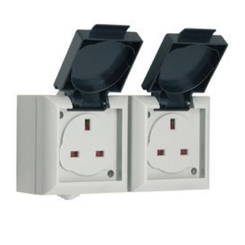 IP54 Rated Outdoor Weatherproof Sockets & Switches / Menu Options