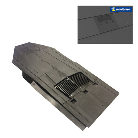 In-line Slate Roof Vent for Man-made & Natural Tiles <br><br>