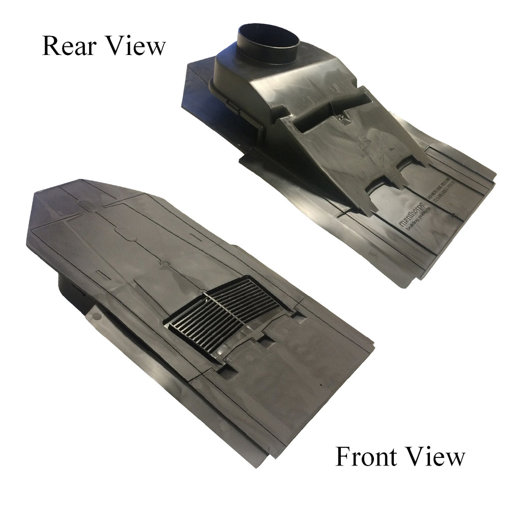 In Line Slate Roof Vent For Man Made Amp Natural Tiles