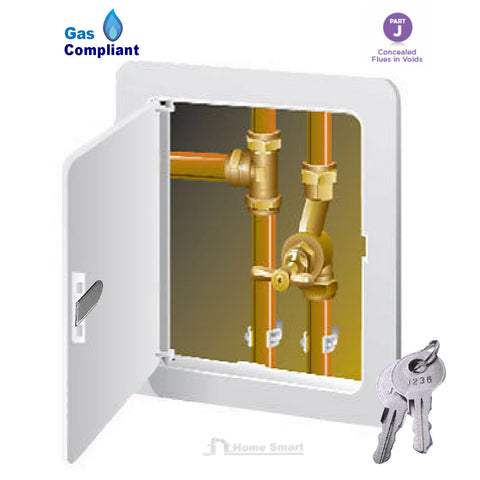 Access Panel Inspection Hatch Gas Safe Key Lock<br><br>