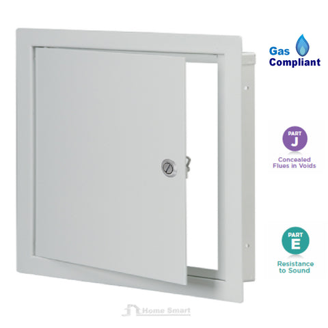 Metal Access Panel / White Inspection Hatch Hinged<br> <br>