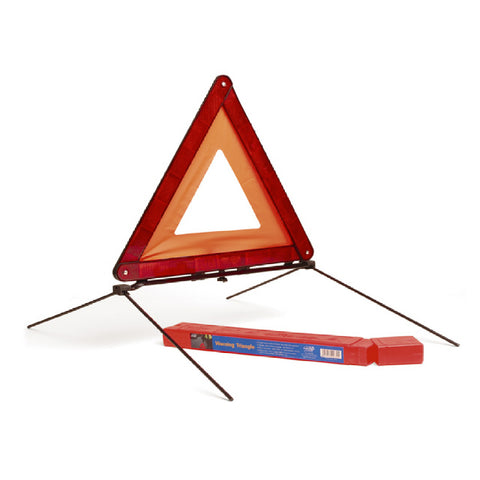 Large Reflective Warning Triangle Sign<br><br>