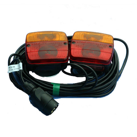 Magnetic Trailer Rear Towing Lamps  Light Cluster <br><br>