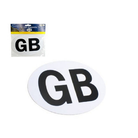 Magnetic GB Badge <br> Euro Travel Plate <br> <br>