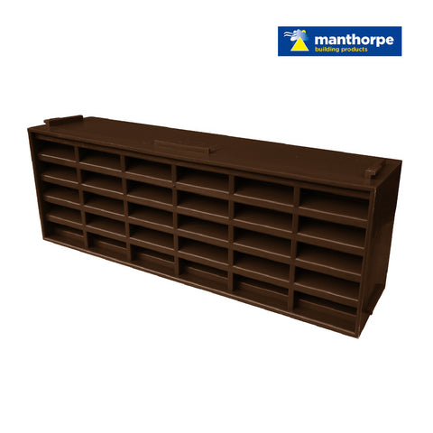 Manthorpe Brown Interlocking Air Brick Vents / Menu Options