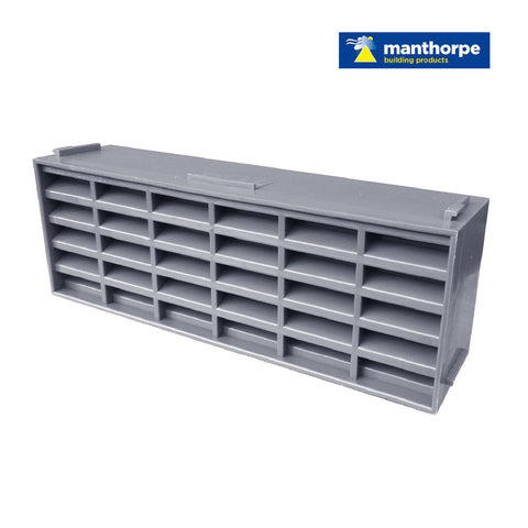 Manthorpe Grey Interlocking Air Brick Vents / Menu Options