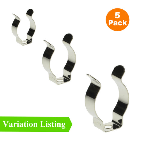 5 x Large Narrow Base Tool Spring Terry Clips<br><br>