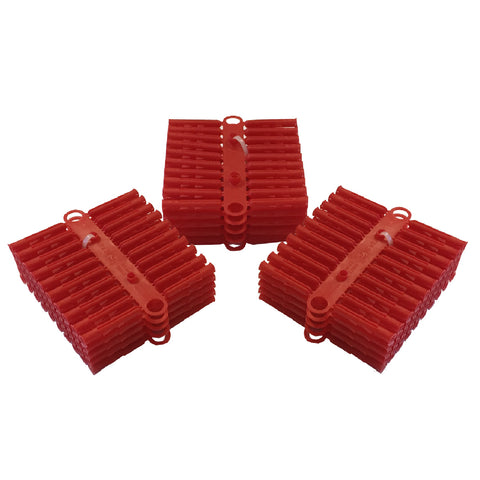 300 x Heavy Duty Red Wall Raw Plugs<br><br>
