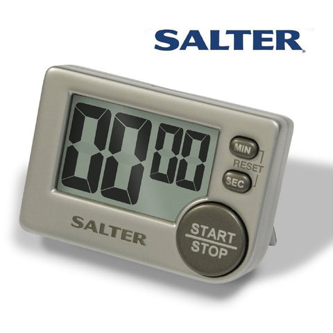 Salter Digital Kitchen Cooking Timer Big Button / Magnetic or Free Stand
