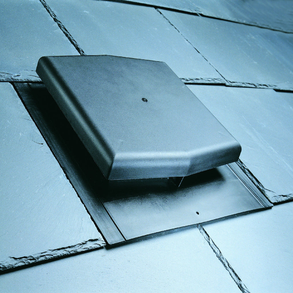 Slate Roof Tile Vent With Pipe Adapter Kit Homesmart