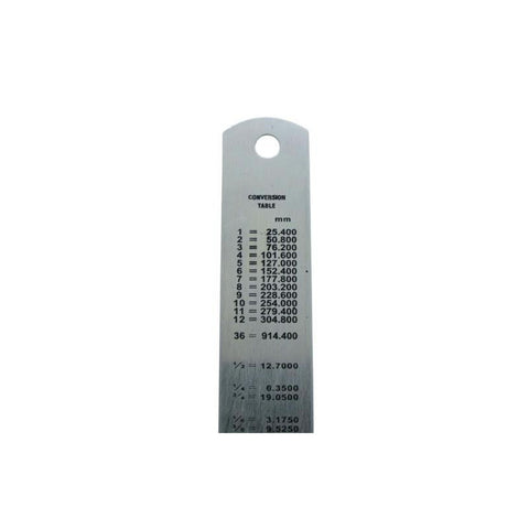 2 x Stainless Steel Metal Rulers 12 inch & 6 inch<br><br>
