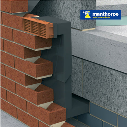 20 x Manthorpe Telescopic Adjustable Underfloor Cavity Wall Vents